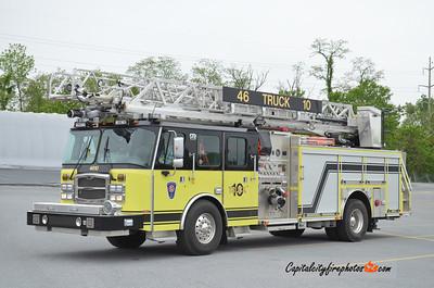 Scottsville (Monroe Co.) Truck 46-10: 2013 E-One Typhoon 2000/480/20 78'