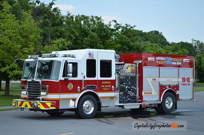 Centerville (Allegany Co.) Engine 19-10: 2012 KME Predator 1500/1000