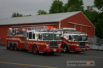 FDNY Ladder 156 and Rescue 1: 2011 Ferrara's