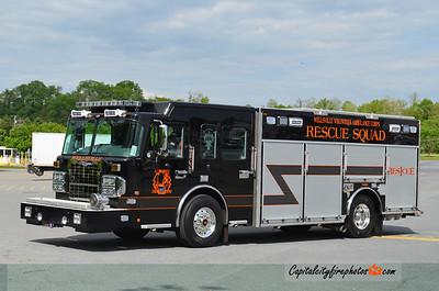 Wellsville Rescue Squad (Allegany Co.) Rescue 1: 2014 Spartan MetroStar/Rescue 1