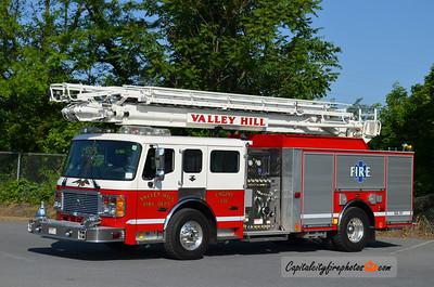 Valley Hill Fire, Hendersonville (Henderson Co.), NC Engine ?: 2009 American LaFrance Eagle 2000/500 65' Tele Squrt