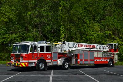 Atlanta (Fulton Co.), GA Truck 38: 2015 KME Predator 100'