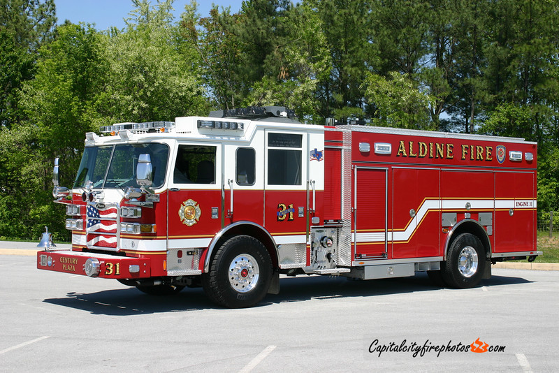Aldine (Harris Co.), TX Engine 31: 2010 Pierce Arrow XT 1500/1000/50/20