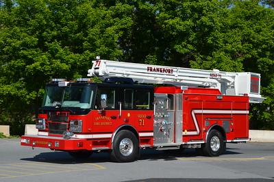 Frankford Fire District (Will Co.), IL Squad 71: 2016 Smeal Sirius II/LTC 1500/500 55' Snorkel