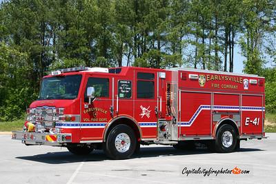 Earlysville (Albemarle Co.) Engine 41: 2010 Pierce Velocity 1500/725