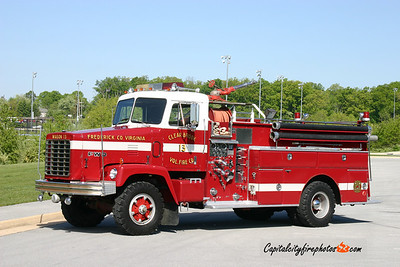Clear Brook (Frederick Co.) Wagon 13: 1976 FWD 750/500
