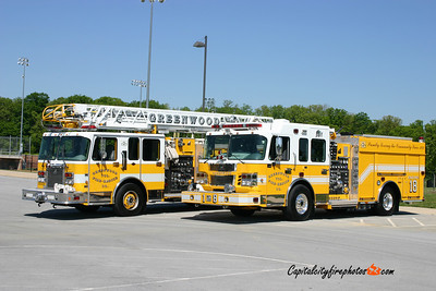 Greenwood (Frederick Co.) Quint 18 and Engine 18