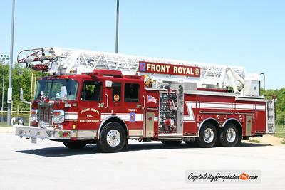 Front Royal (Warren Co.) Truck 1: 2003 Spartan/Smeal 1500/400/45 105'