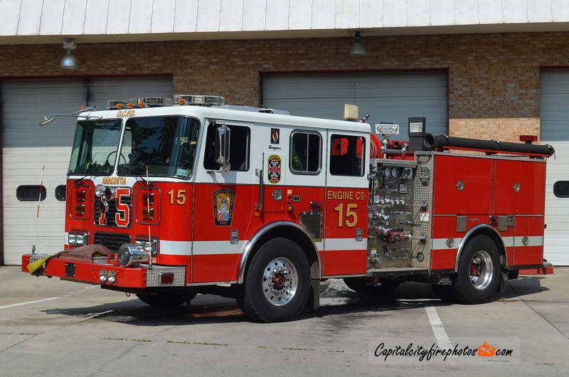Washington, DC Engine 15: 2005 Seagrave 1250/500