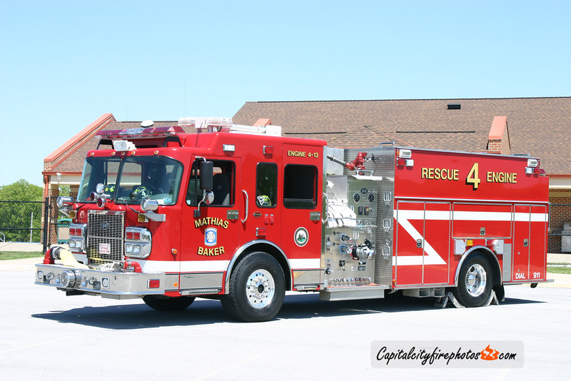 Mathias Baker (Hardy Co.) Engine 4-13: 2005 Spartan/S&S 1500/800/50