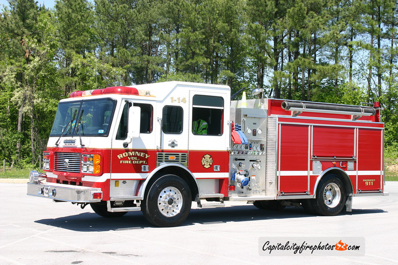 Romney (Hampshire Co.) Engine 1-14: 2000 ALF Metropolitan 1500/1000