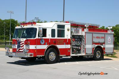 Veteran Affairs, Martinsburg (Berkeley Co.) Engine 81: 2009 Pierce Contender 1250/750