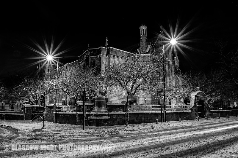 Rutherglen in the Snow