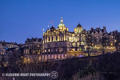 Christmas in Edinburgh