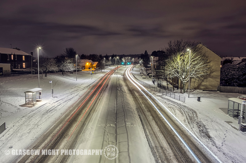 Rutherglen in the Snow