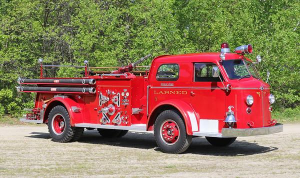Retired.  Larned, KS.   E-5   1953 American LaFrance