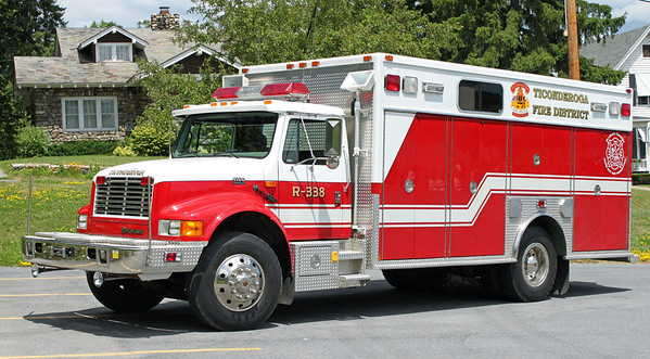 Rescue 338  1995 International Heavy Rescue