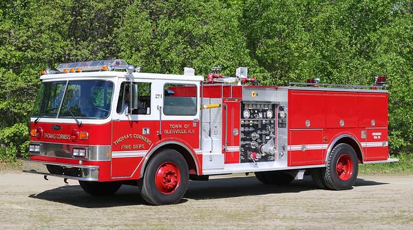 Glenville, NY   Engine 271   1988 Pierce Arrow   1250 / 750