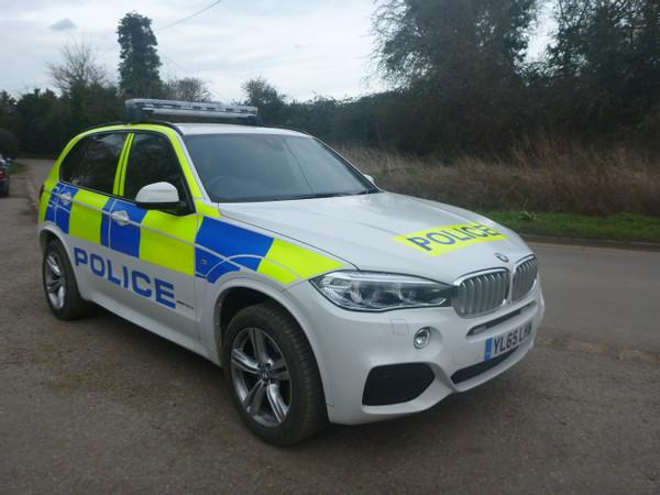 Police BMW X5