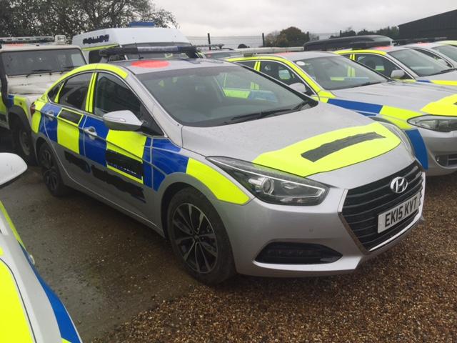 Police Hyundai
