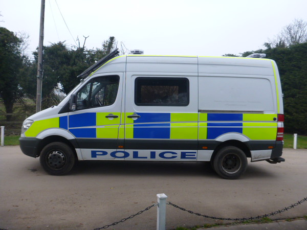 Police Riot Van