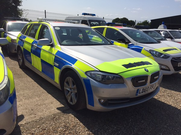 Police BMW Estate