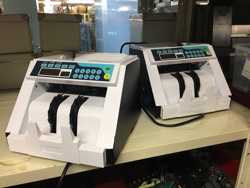 Note counting machines