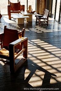 FRANCE. VAL DE LOIRE. OUVERTURE DE L HOTEL LES SOURCES DE CHEVERNY. La réception