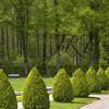 Old forest park rimmed park in Germany, Bavaria