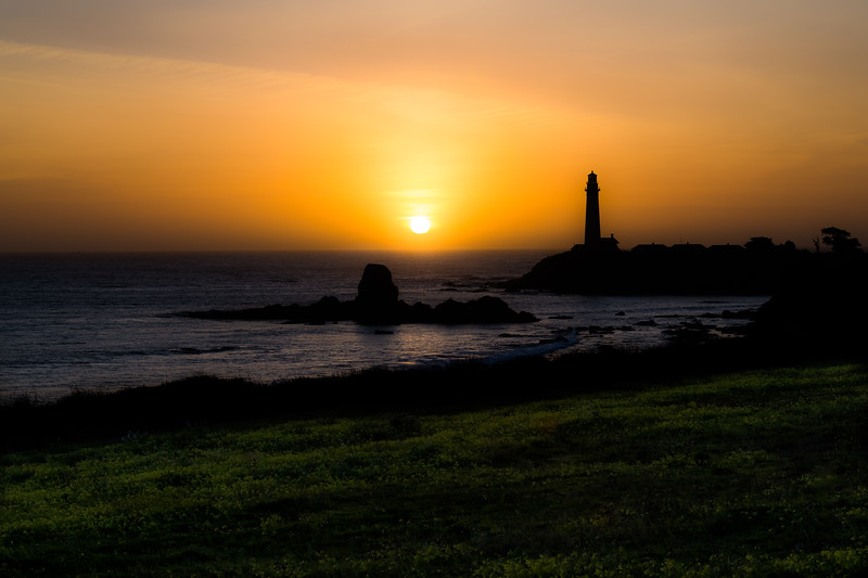 Sunset at Pigeon Point