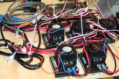 The prototype control board.