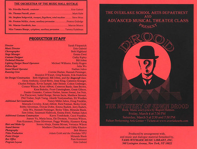A - Drood Program-2