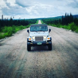 Jeep....middle of Labrador