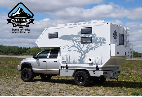 Super Nice Composite Truck Camper For Sale On ExPo