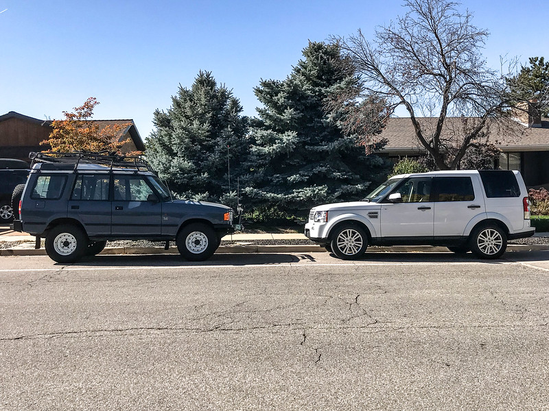 My two Disco's, 1 and 4. Funny that neither of these were ready or able to make the trip. Next time!