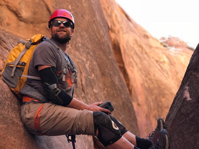 Matt - canyoneering leader.