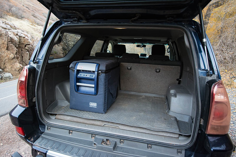 Fridge not included but vehicle is wired (Anderson Powerpole Connectors)