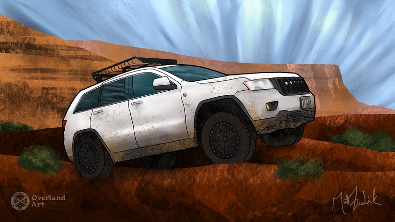 Venture Overland's '11 Jeep Grand Cherokee