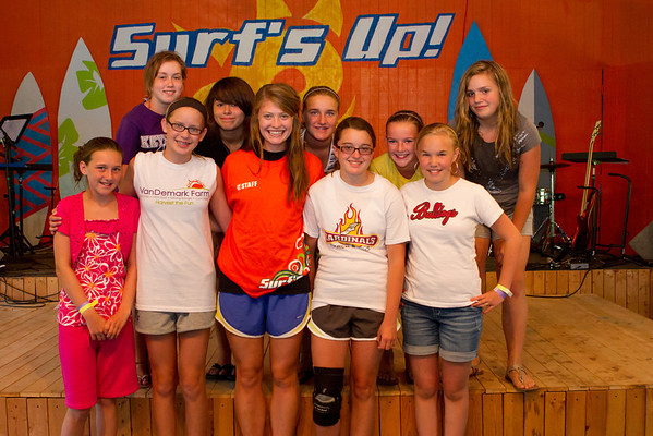 2012 Camp 1 Counseling Groups