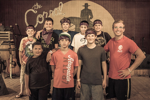 2013 Camp 2 Counseling Groups
