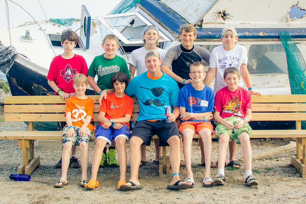 2014 Camp 2 Counseling Groups