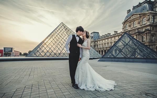 Prewedding-巴黎-Christine