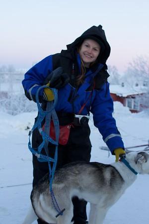 Abisko Dog Sledding 13