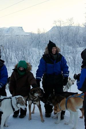 Abisko Dog Sledding 23