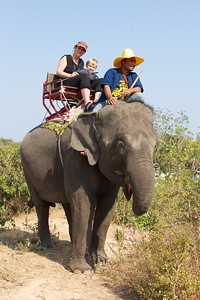 Thailand HuaHin Elephant 12