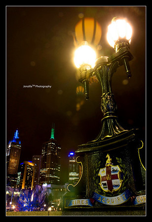 Melbourne 07 - Flinders Street Night