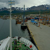 The dock at Ushuaia