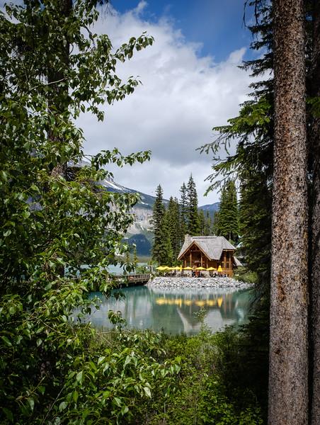 At Emerald Lake