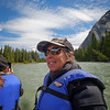 Rafting on Bow River