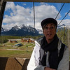 On the Gondola at Lake Louise